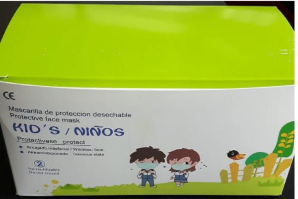 Mascarilla Higiénica Infantil Caja